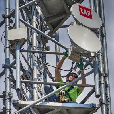 WiFi4ALL - Aansluiten straalverbinding
